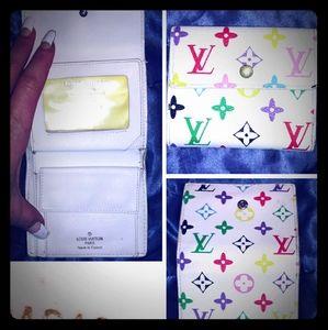 LV small tri-fold wallet monogramed